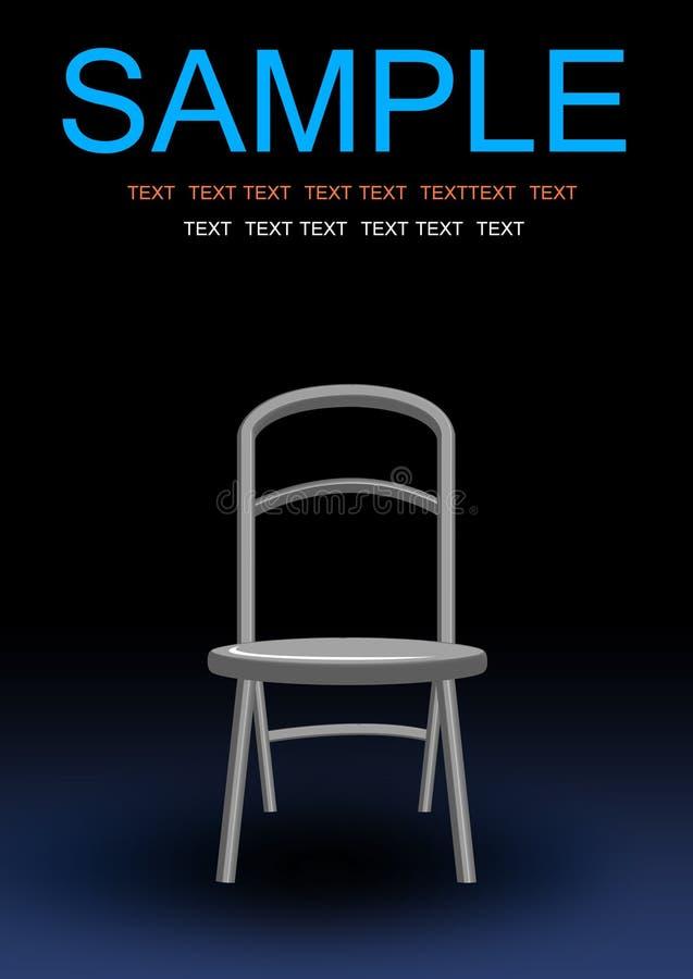 Download Investigate chair stock illustration. Illustration of crime - 16980160