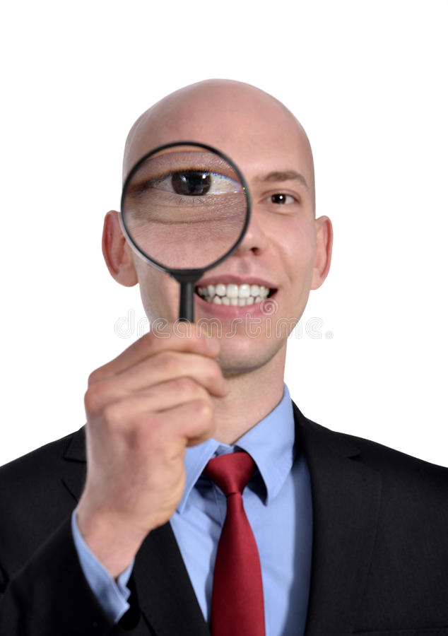 Investigation Stock Photography