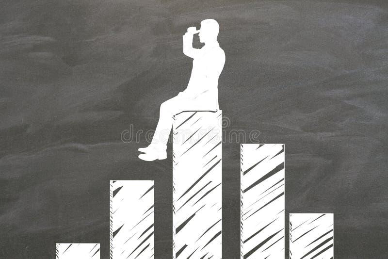 Investigue el concepto stock de ilustración