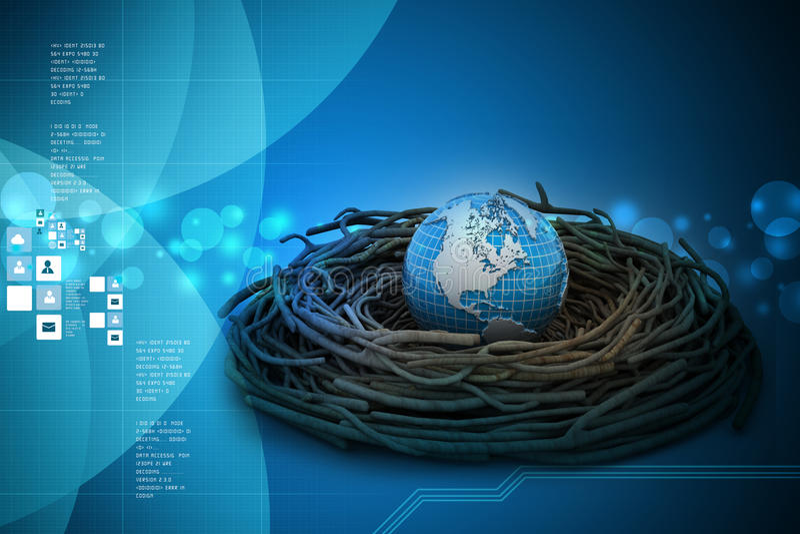 Investimenti internazionali e finanza globale royalty illustrazione gratis