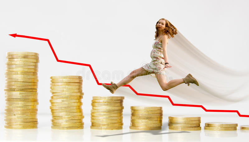 Investimento bem sucedido fotografia de stock royalty free