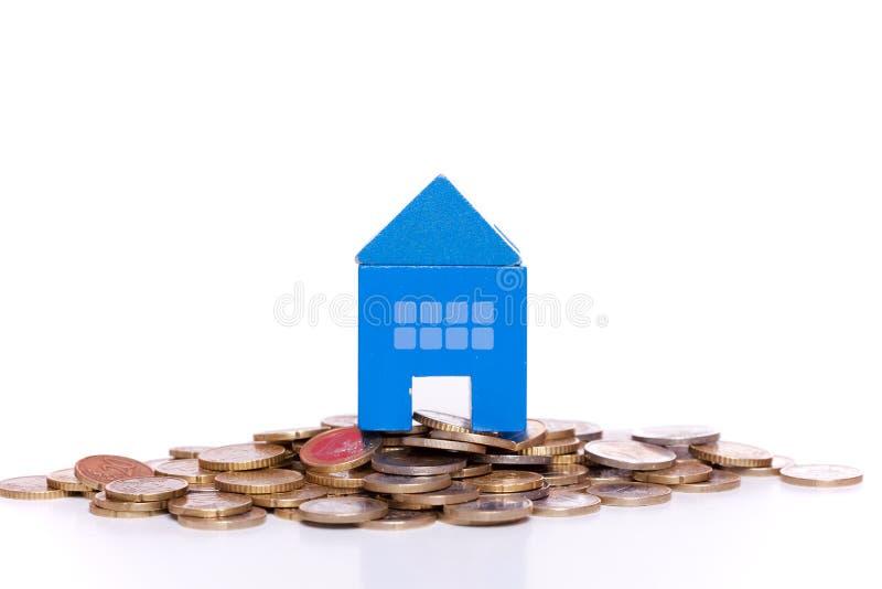 Investimento da casa imagem de stock royalty free