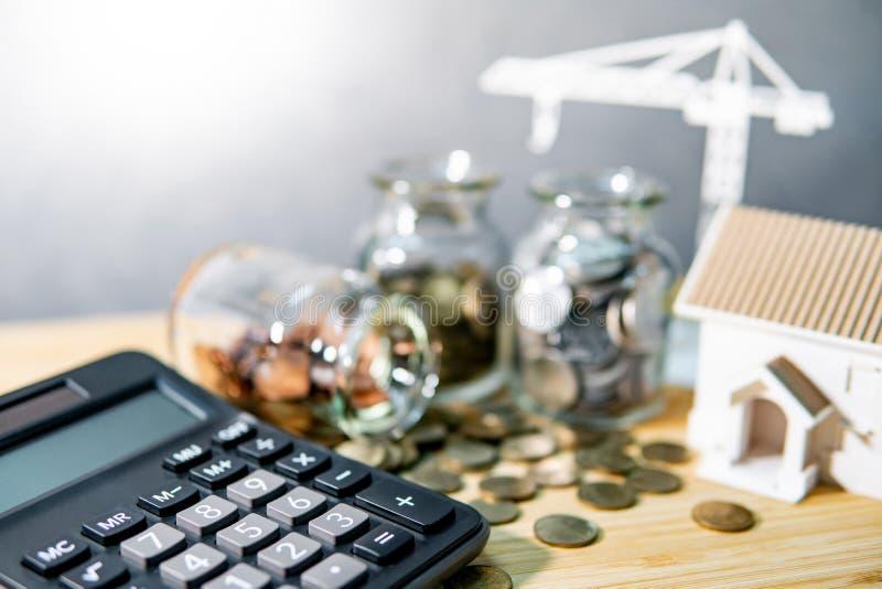 Investimento della proprietà o di sviluppo immobiliare fotografie stock