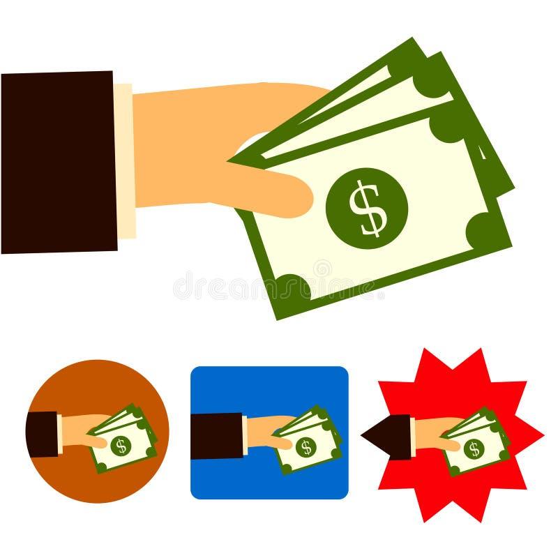Investimento di affare della banca di commercio dei soldi fotografia stock