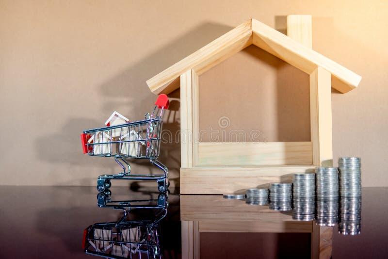 Investimento di bene immobile Concetto d'acquisto della propriet? fotografia stock libera da diritti