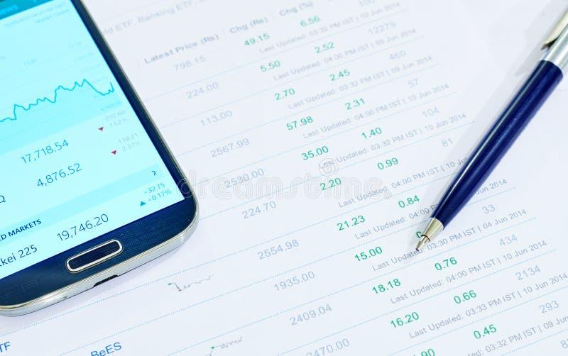 Investimento di finanza immagini stock libere da diritti