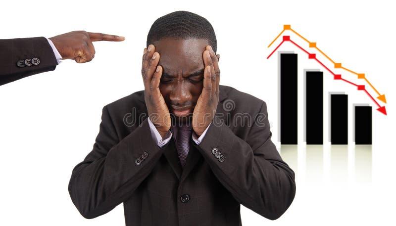 Investimento errato immagini stock libere da diritti