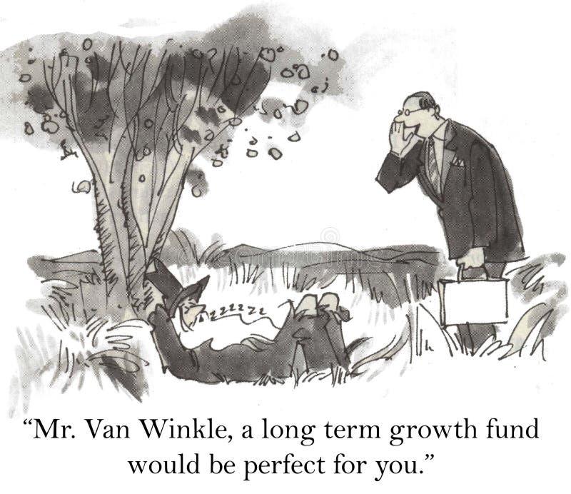 Investimentos ilustração royalty free