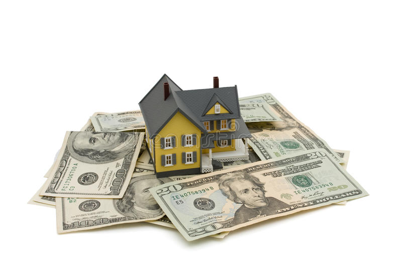 Investing In A House Royalty Free Stock Photos