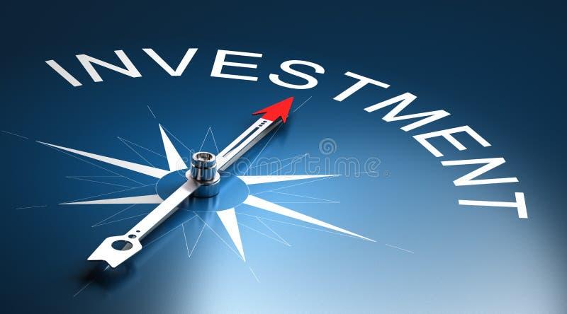 Investisment riskledning stock illustrationer