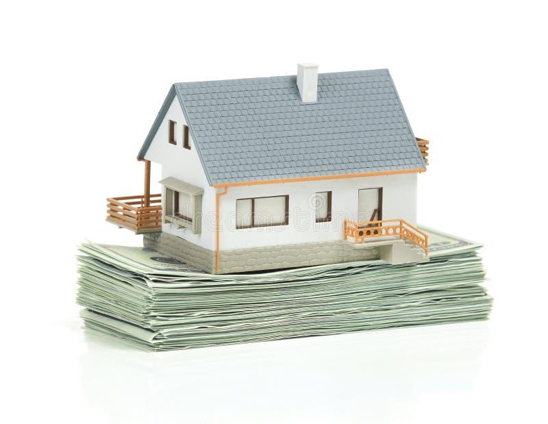 Investissement à la maison - image courante images libres de droits