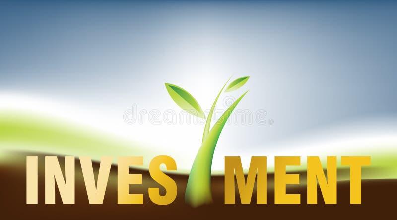 Investissement 01 illustration stock