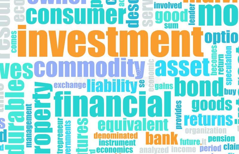 Investissement illustration stock