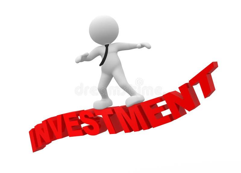 Download Investissement illustration stock. Illustration du businessman - 56482435