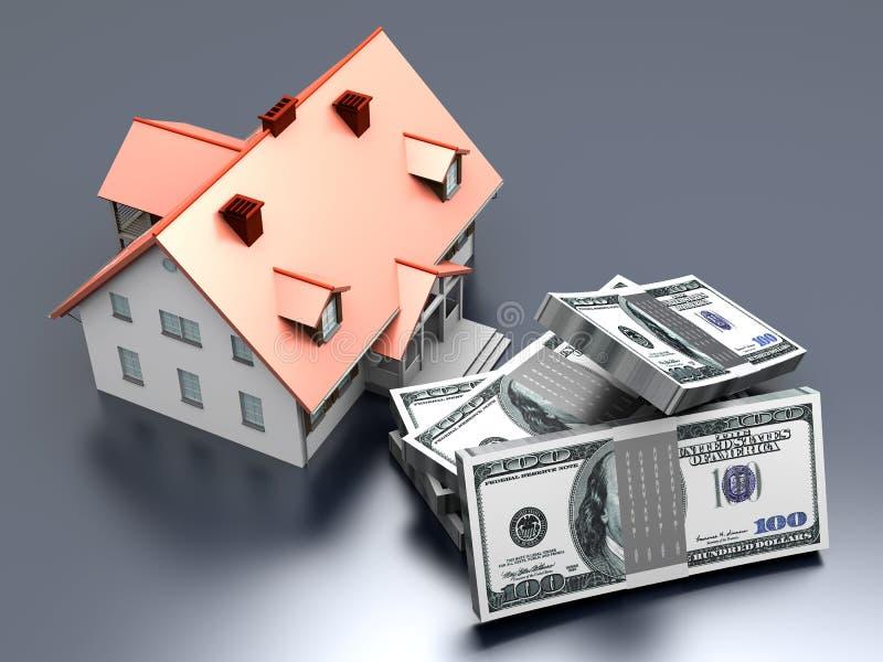 Investissement d'immeubles illustration stock