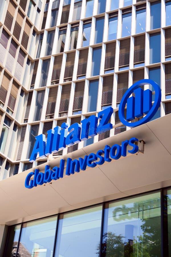 Investisseurs d'Allianz Global image libre de droits