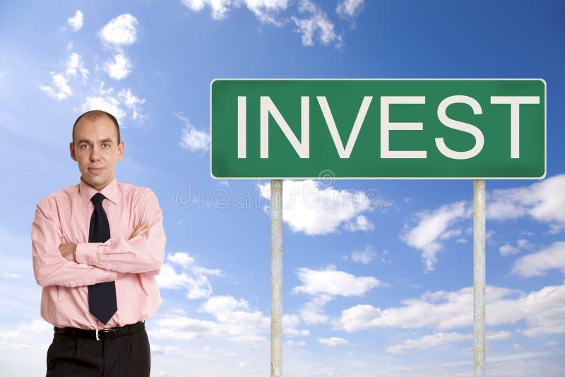 Investissez photographie stock
