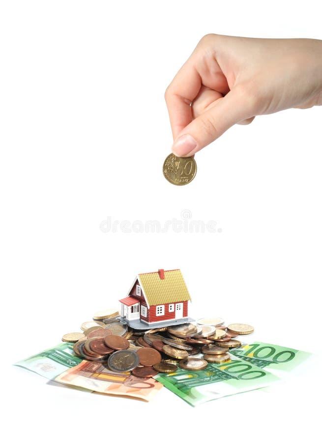 Investissez en immeubles. photo stock