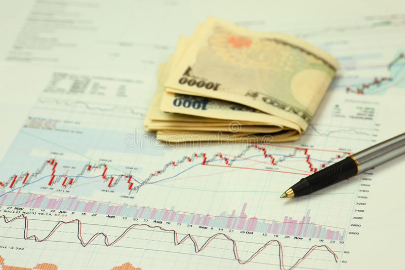 Investition lizenzfreies stockfoto