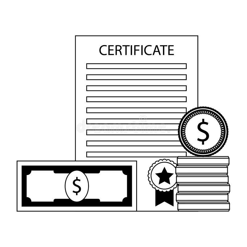 Investition in der Bildung stock abbildung