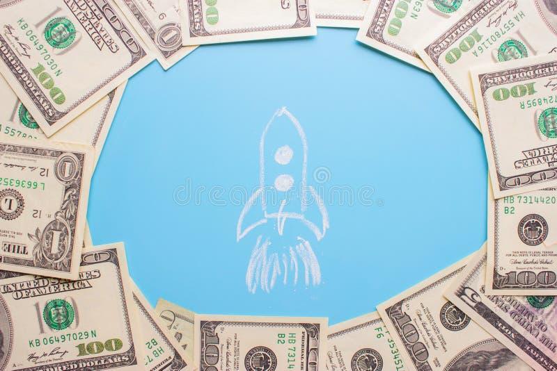 Investition r bardzo szybkiego pojęcie zdjęcie stock