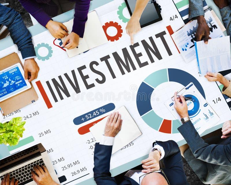 Investitions-Finanzgeld-Konzept lizenzfreie stockfotos
