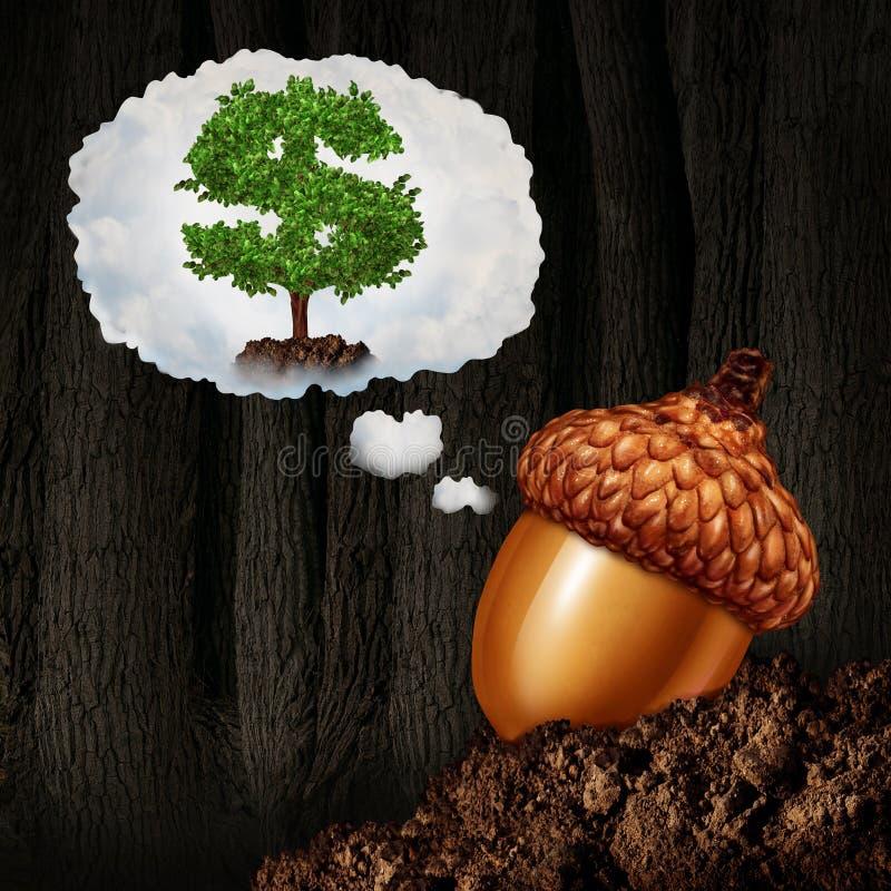 Investitions-Planung lizenzfreie abbildung