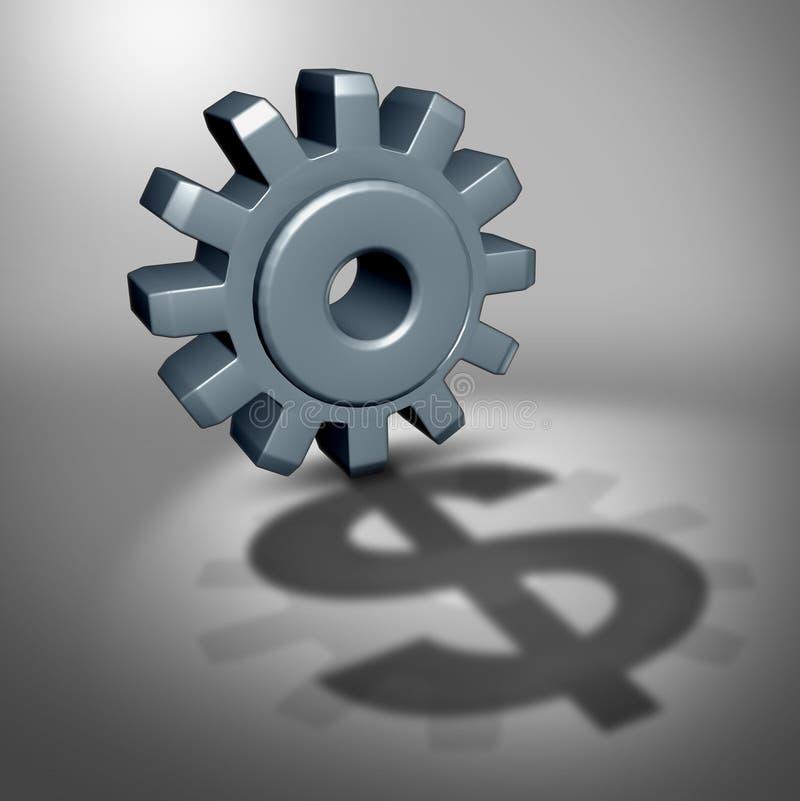 Investitions-Potenzial lizenzfreie abbildung