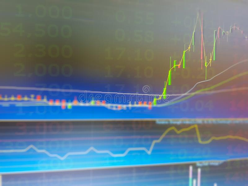 Nvestment in bitcoin,Financial,Gold future,Option,Derivative, stock, forex market trading graph and candlestick chart pattern royalty free stock images