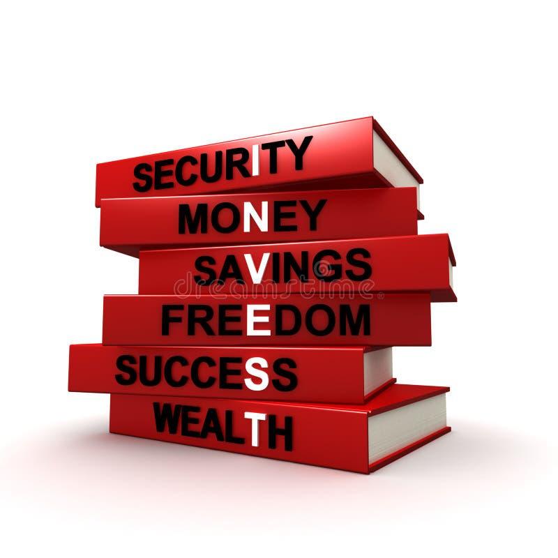 Investment Books stock illustration