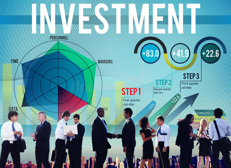 Investment Budget Business Costs Finance Concept stock photo