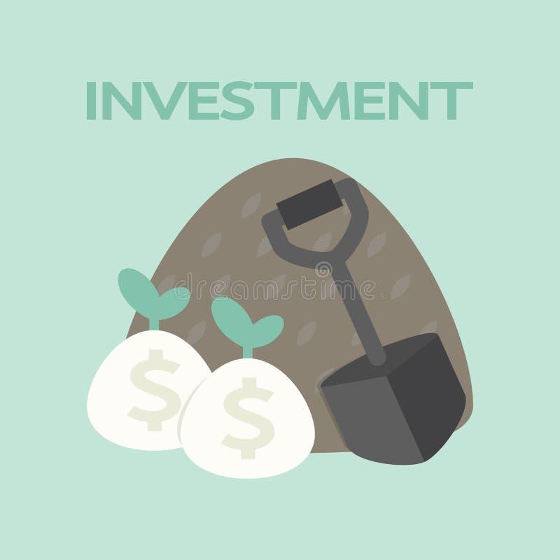 Investment stock illustration