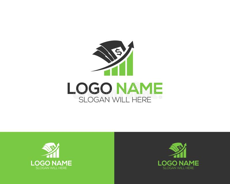 Investment Company Logo Template online store vectors illustration. This is very easy to use. U ca Use as your won simply vector illustration