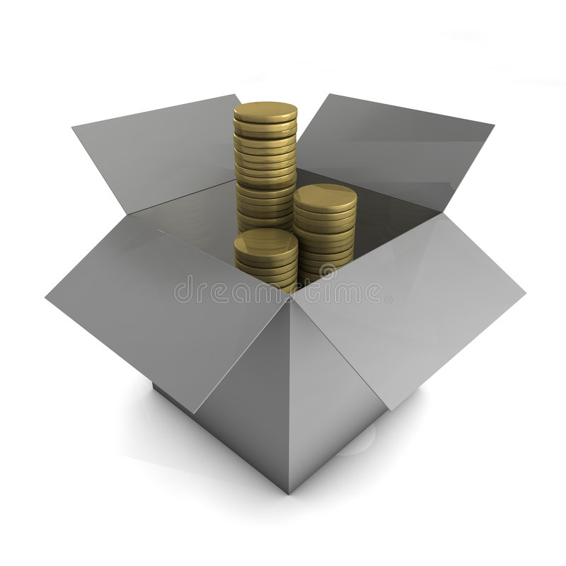 Download Investment Concept stock illustration. Image of container - 5704896