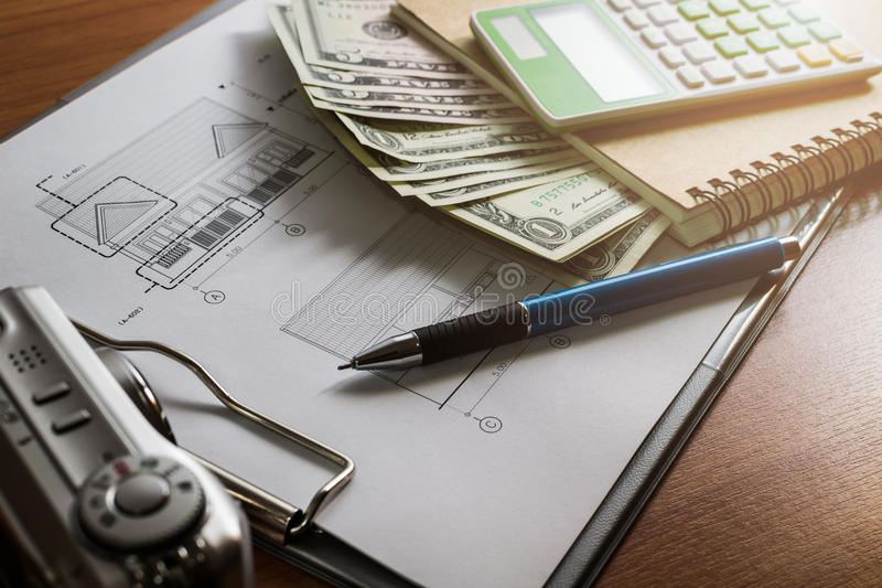 Investment for construction with limit budget royalty free stock photo