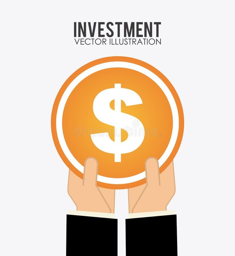 Investment. Design, illustration eps10 graphic stock illustration