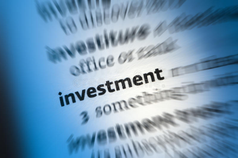 Investment - Finance stock photography