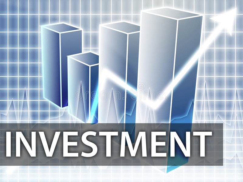 Download Investment finances stock illustration. Image of glow - 7319859