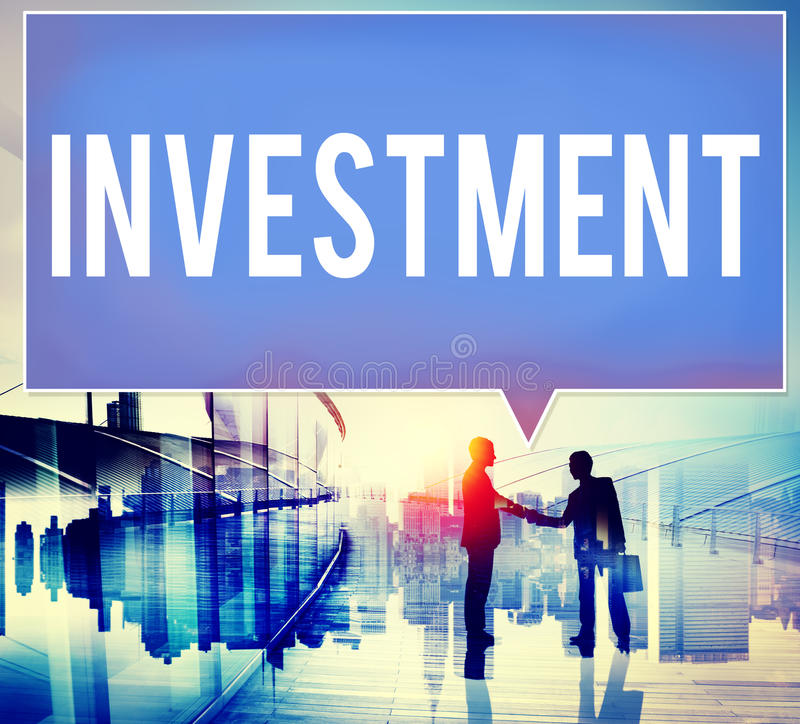 Investment Financial Economy Interest Risk Concept stock photography