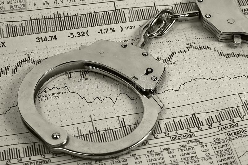 Investment Fraud stock photography