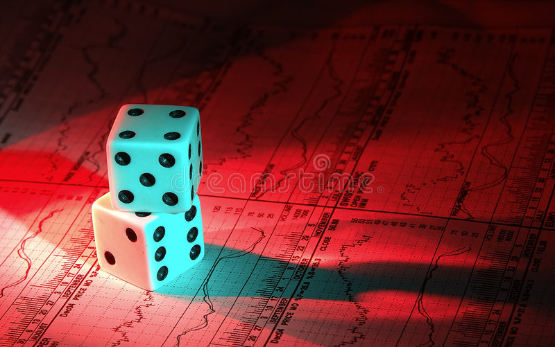 Investment Gamble 2 royalty free stock photography