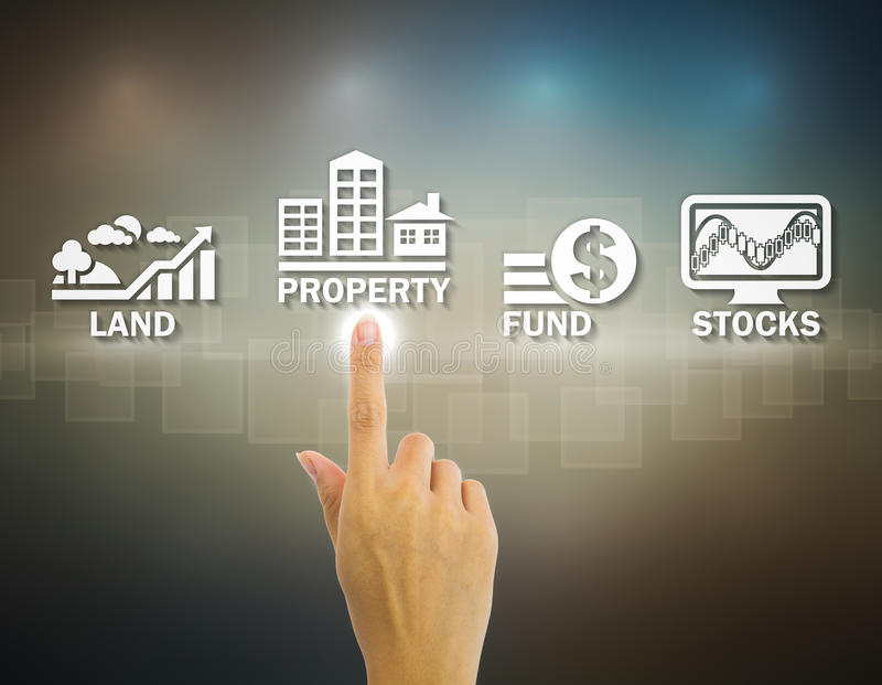 Investment stock illustration