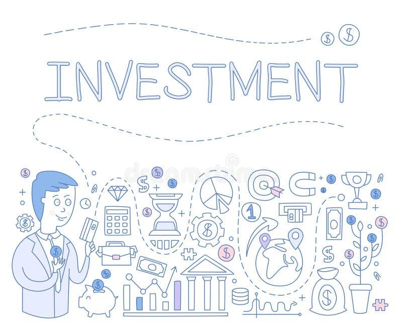 Investment Infographics. Vector Illustration vector illustration