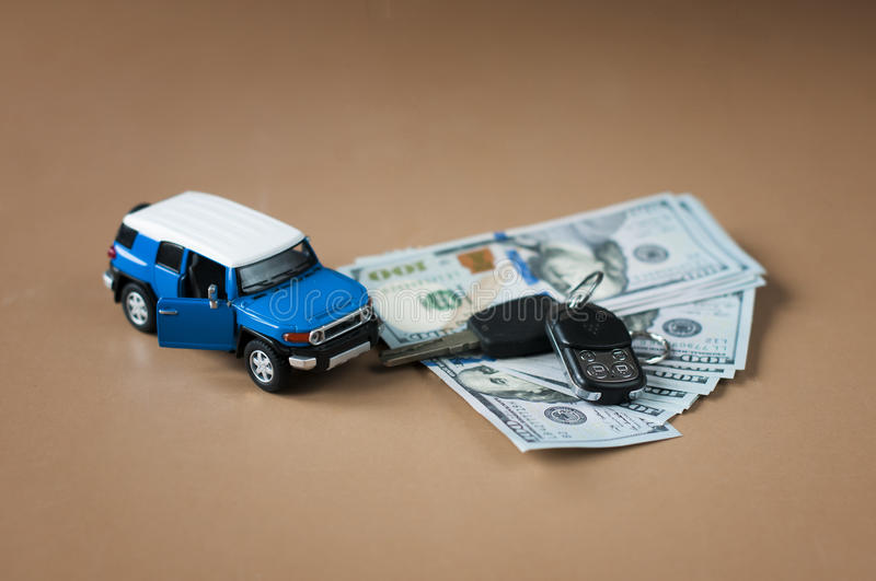 Investment in the purchase of cars. Investment in the purchase of cars, consept of loan car royalty free stock images