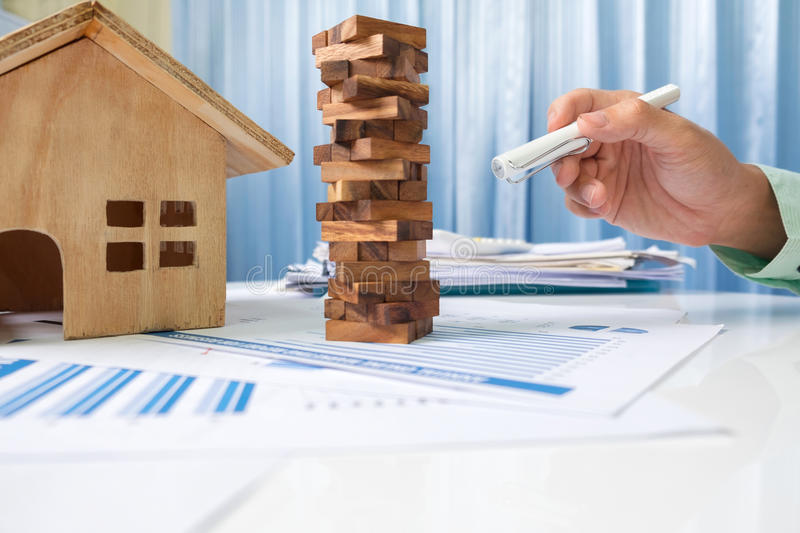 Investment real estate and property concept. royalty free stock image