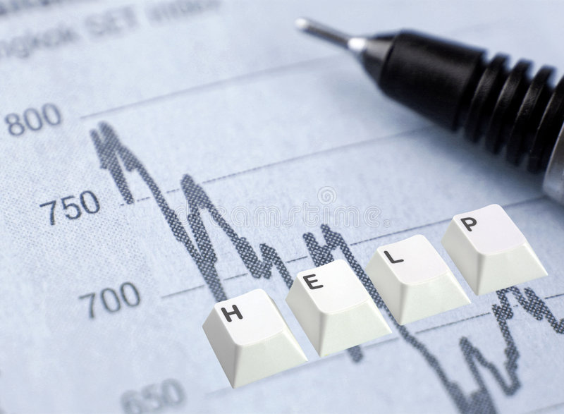 Download Investment Worries Stock Photography - Image: 4904002