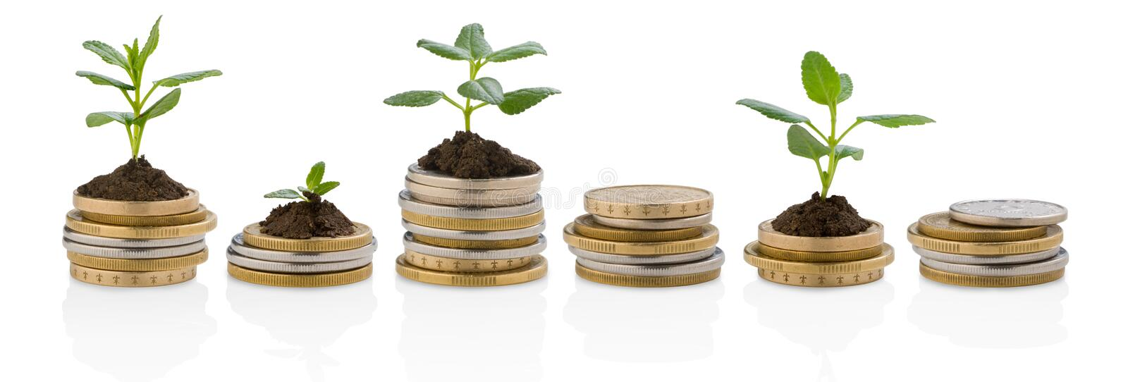 Investments stock images