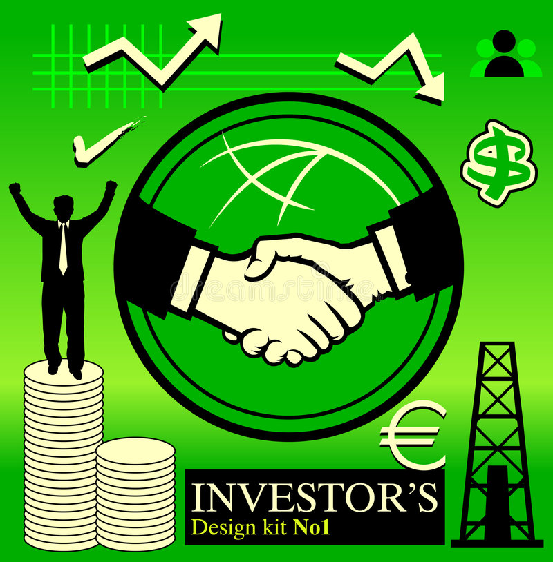 Download Investor's Pack No1 stock vector. Illustration of icons - 474179