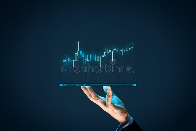 Investor und Händler lizenzfreie stockfotografie