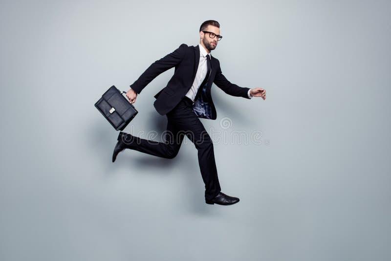 Investorrechtsanwaltexekutivgeschwindigkeitsdringlichkeitsverzögerungs-Fachmann manag lizenzfreies stockbild